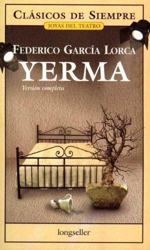 tapa del libro: Yerma