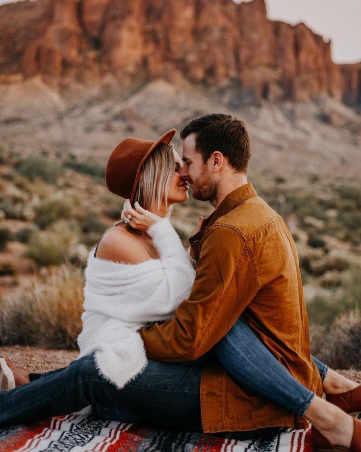 Desert Engagement session by Krista Hawryluk Photography: Winnipeg wedding photographer