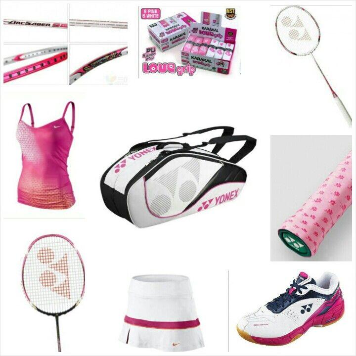 Badminton pink love