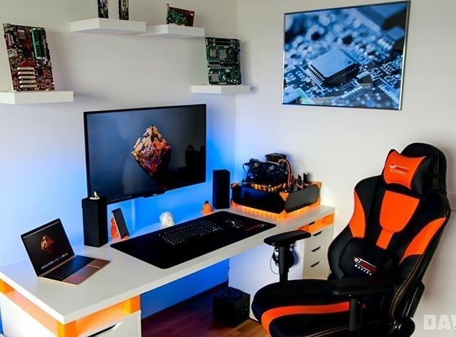 Gaming desks bureau bureau chambre et salles de musique for Chambre gaming
