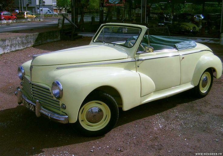 Peugeot - 203 Cabriolet 1952 ✏✏✏✏✏✏✏✏✏✏✏✏✏✏✏✏ IDEE CADEAU / CUTE GIFT IDEA  ☞ http://gabyfeeriefr.tumblr.com/archive ✏✏✏✏✏✏✏✏✏✏✏✏✏✏✏✏
