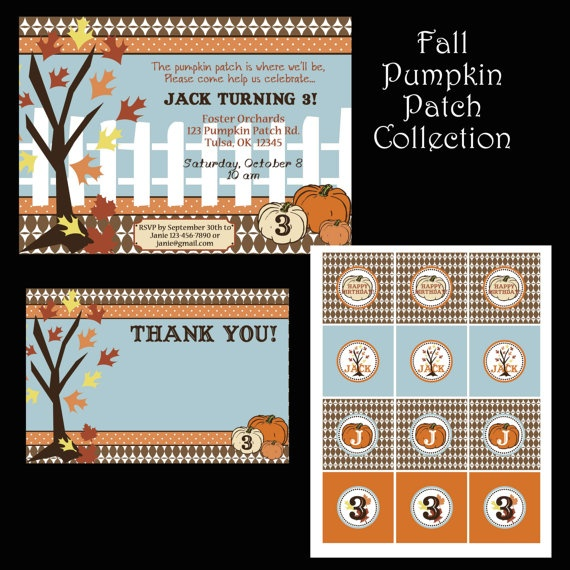 Fall Pumpkin Patch Collection $15.99                  #pumpkin #patch #fall #invitation #invite #party #halloween #harvest #cupcake #toppersFall Pumpkin, Halloween Pumpkin Patches, Fall Parties, Bugs Design, Birthday Parties, Fall Halloween Pumpkin, Parties Ideas, Parties Invitations, Luv Bugs