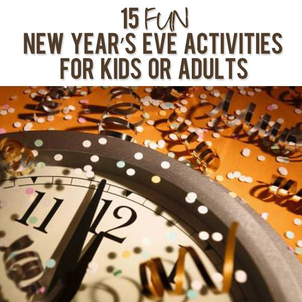 new years eve party games 2014