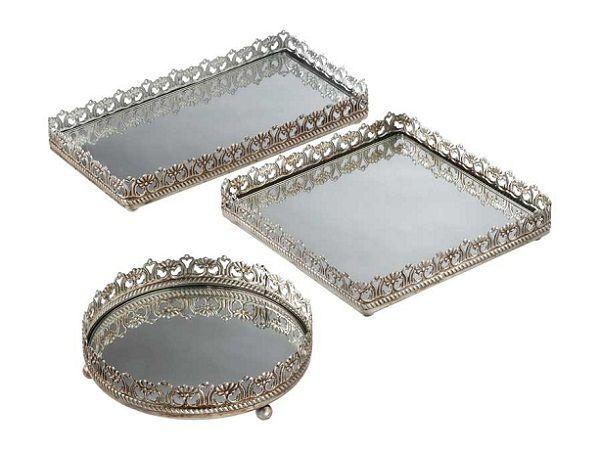 Antique Mirror Vanity Tray | Mirrored Vanity Trays-champagne tray, mirrored  tray, antique - 189 Best VANITY TRAY Images On Pinterest Vanity Tray, Serving