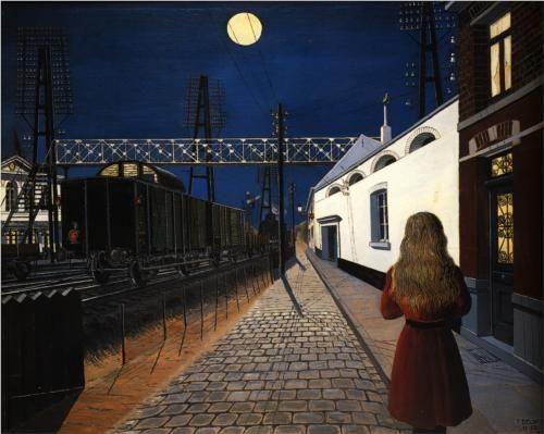 Loneliness - Paul Delvaux