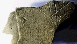 "The oldest known stories of Arthur don't refer to Camelot by name. On July 4th, 1999 a small piece of slate was discovered during excavations on Tintagel inscribed with the name ""Artognov""."