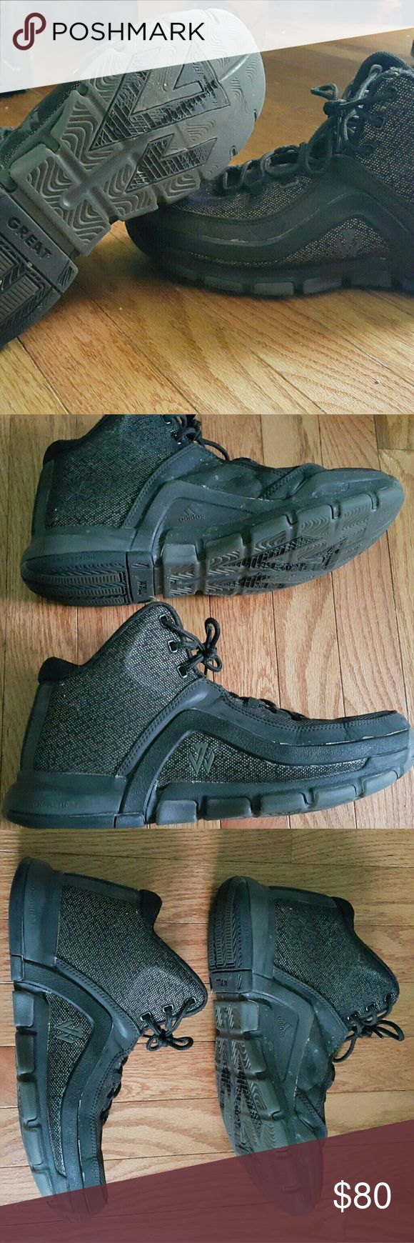 John wall 2 Used 2 or 3 times not my style but good looking shoe, very comfortable, size 10.5 comes with original box adidas Shoes Sneakers
