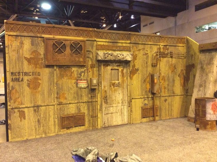 17 best images about toxic waste industrial on pinterest for Haunted house scene ideas