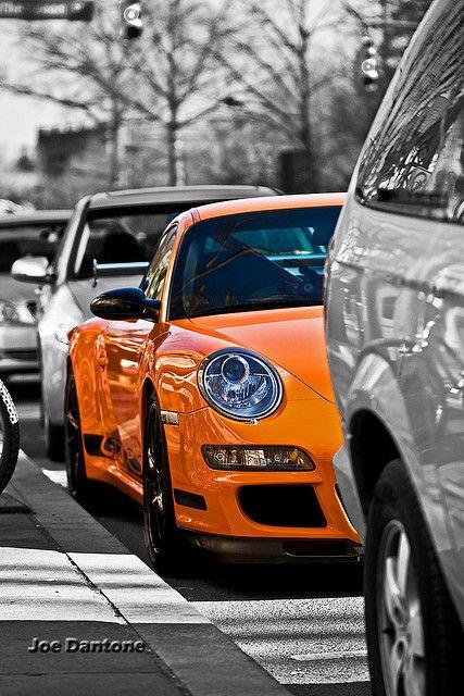 Porsche Princeton Selective Color by Joe Dantone, via Flickr