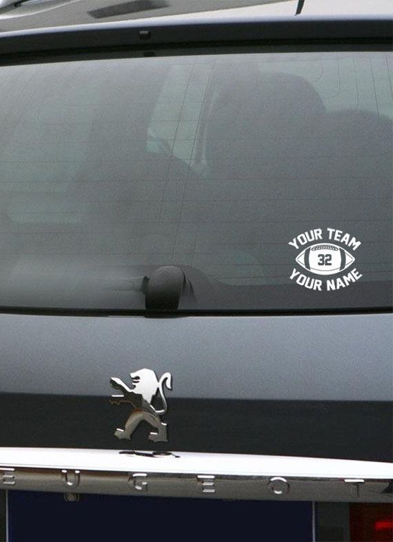 Best Images About Car Decals On Pinterest Cars Soccer - Football custom vinyl decals for cars