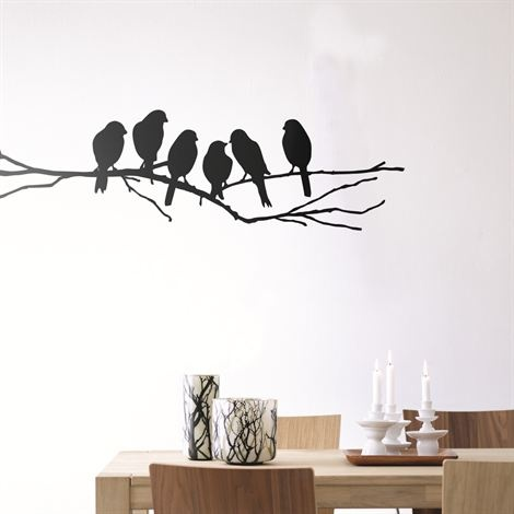 Lovebirds wall decoration