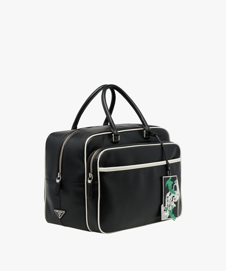 Calf leather briefcase Prada SS18