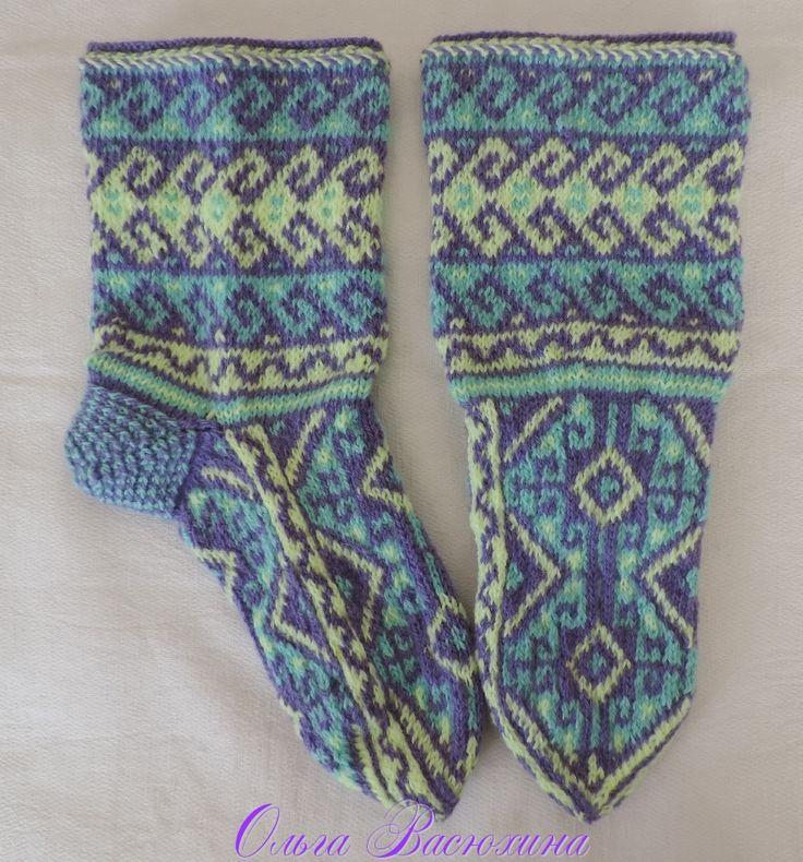 230 best Джурабы images on Pinterest | Knit socks, Boot socks and ...