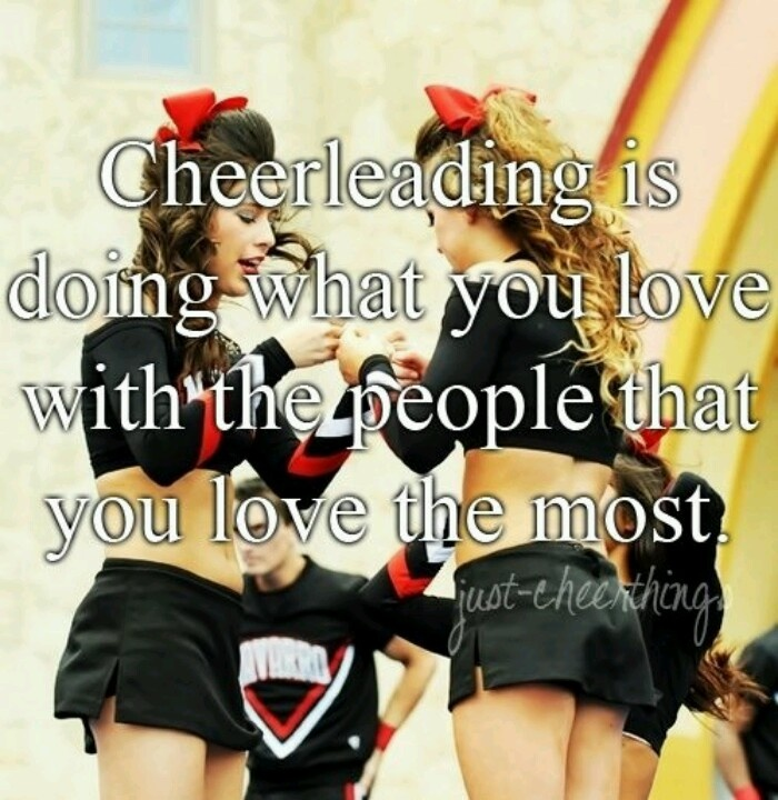 Cheerleading Friend Quotes: 17 Best Ideas About Cheer Sayings On Pinterest