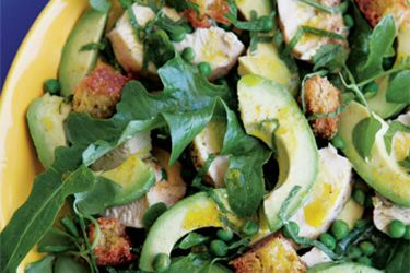 Chicken and Avocado Salad recipe, Listener – A simple and nutricious chicken salad for warmer weather, perfect for entree or a light lunch.  – foodhub.co.nz