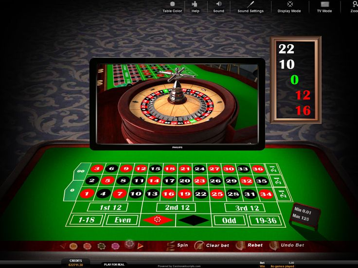 Buy Table game for Online Casino - American Roulette TV 3D  Table roulette