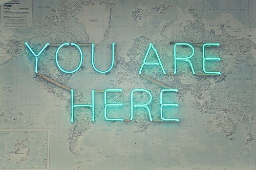 You Are Here #neonlights
