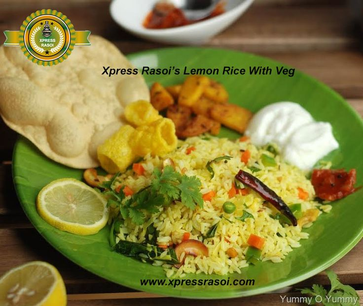 Its realy delicious...Xpress Rasoi's Lemon Rice With Veg #Jainfoodintrain #foodontrain #orderfoodintrain #onlinefoodorderintrain     To know more visit us www.xpressrasoi.com or #foodfortrain #foodintrain #fooddeliveryintrain call on our toll free numb