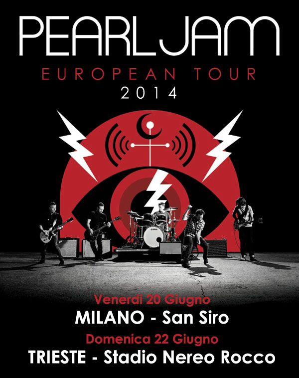 20/06/2014 - Pearl Jam - Milano - San Siro