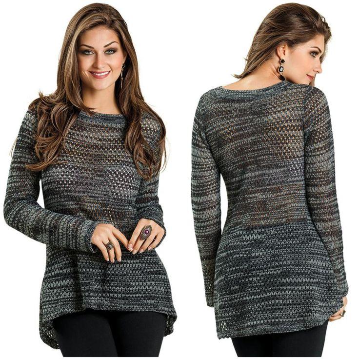 Suéter mullet