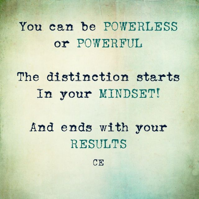 Take your POWERFUL self into this weekend.