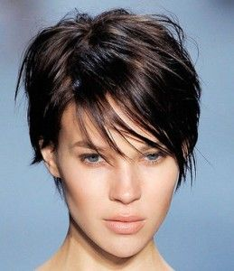 short haircut. Not for me, but super cute!