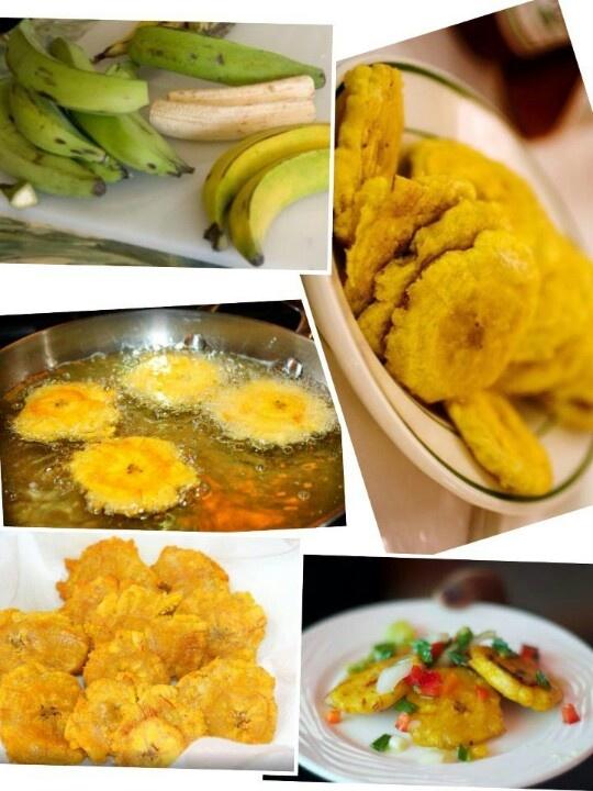 Fried plantains | Haitian food recipes, Caribbean recipes ...