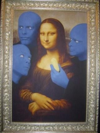 BLUE MAN GROUP MONA