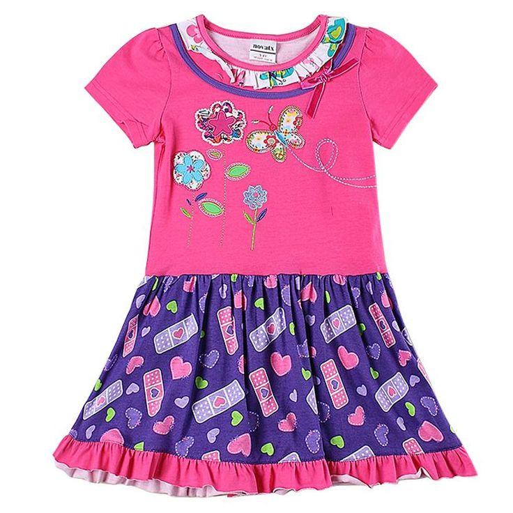 2016 H5953d2 6 Years Old Girls Dresses Nova Kids Dress Wear Summer ...