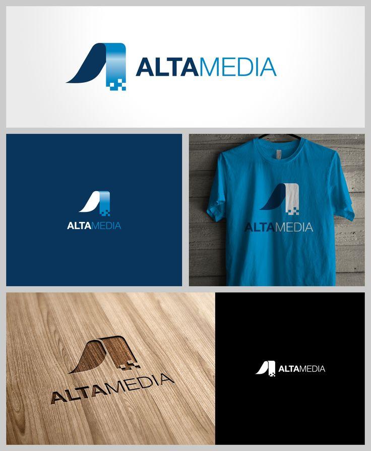 AltaMedia, Logo, Stationery