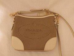 Prada Jacquard Messenger Bag