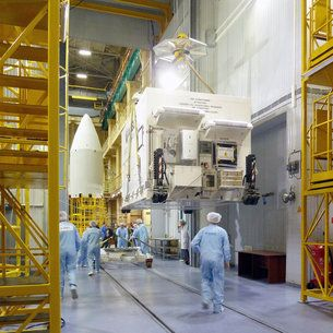 The Sentinel-5P satellite has arrived in Plesetsk in northern Russia to be prepared for liftoff on 13 October. Built to deliver global maps of air pollutants every day and in more detail than ever before, this latest Copernicus mission will set a new standard for monitoring air quality.
