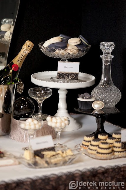 Party Inspirations: The Great Gatsby Table #candigardenparty