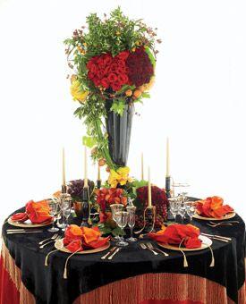 Wooden Box Centerpieces with Dahlias | Wedding Flowers Photos | Brides.com