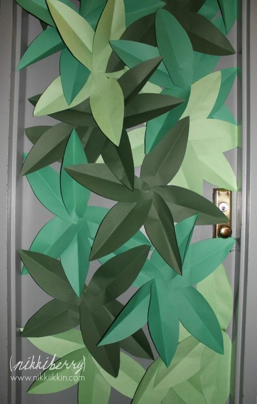 "For ""where the wild things are"" party (front door?)"