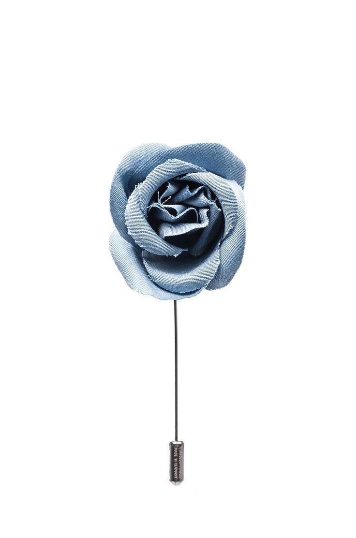 LANVIN lb Rose Pin menswear accessories