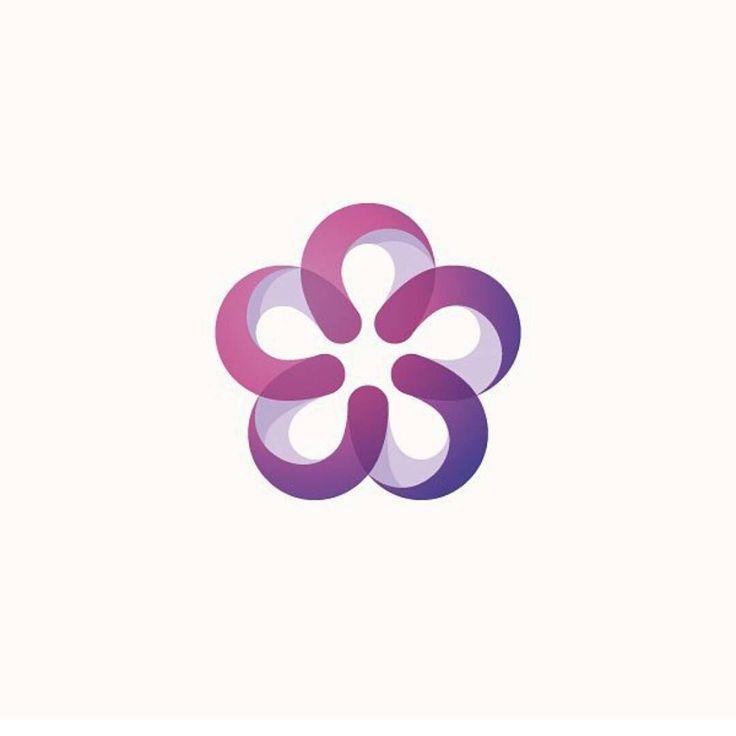 Best 25 Flower Logo Ideas On Pinterest