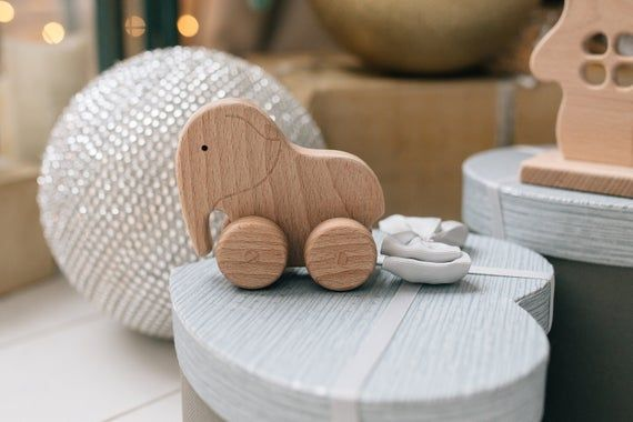 Wooden Pull toy for Toddler