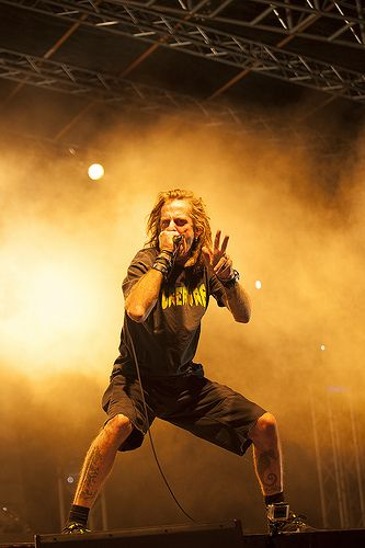 Randy Blythe, Lamb of God.