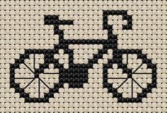 bicycle cross stitch - Google Search