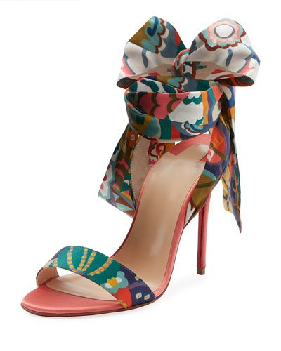 8e7d2e13f07 CHRISTIAN LOUBOUTIN SANDALE DU DESERT RED SOLE SANDAL.  christianlouboutin   shoes
