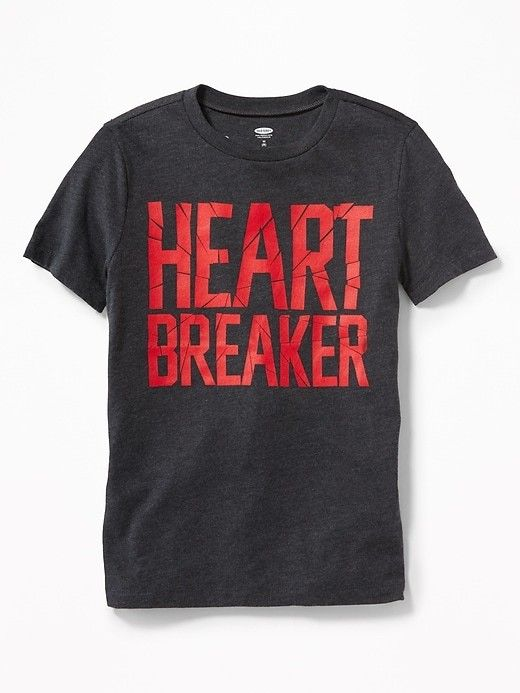 Old Navy Graphic Crew Neck Tee For Boys Valentinesday Kidsfashion