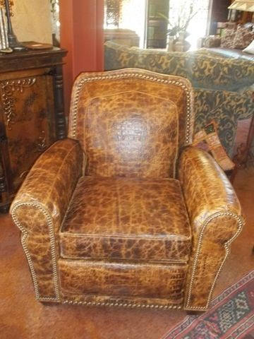 rustic furniture old hickory tannery recliner cierra interiors