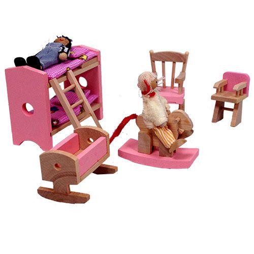 Wooden Dolls House Furniture | eBay