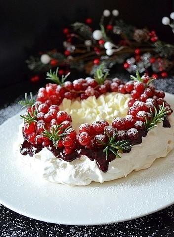 Торт-безе «Павлова». - Colors.life