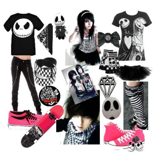 emo boy clothes