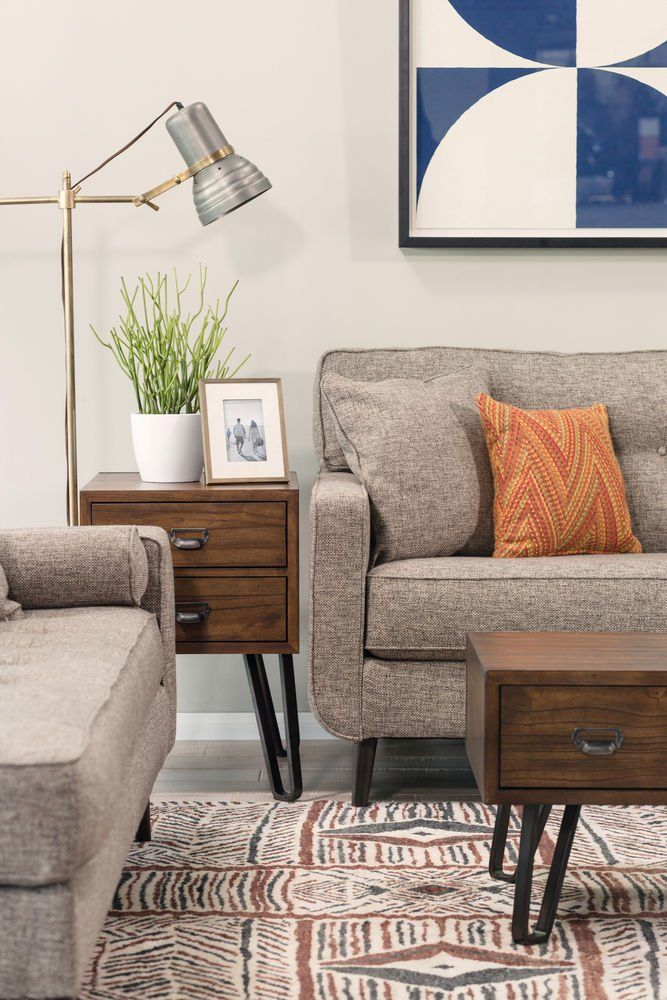 Signature Design By Ashley T7627 Centair Chair Side End Table In A Warm Brown Finish Find Out More A Furniture Ashley Furniture Ashley Furniture Living Room