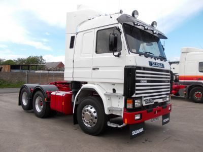 1989 Scania 3 Series R143 Tractor Unit 6x2 For Sale in Stanley, Durham