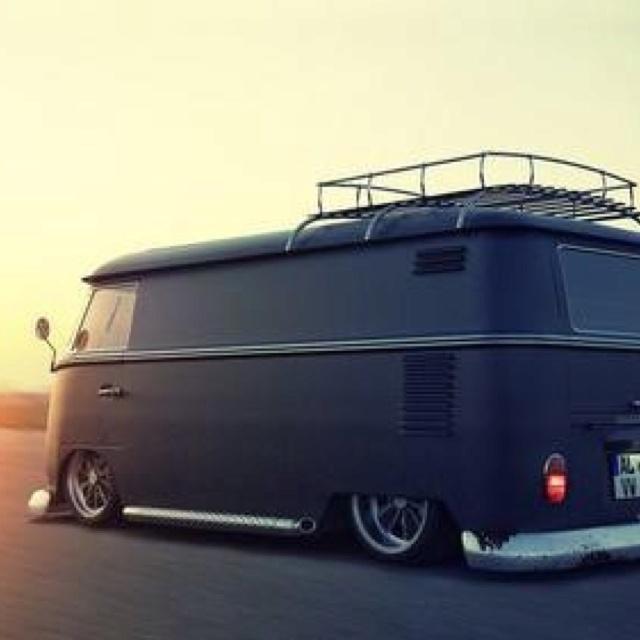 Low VW bus