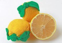 tuto citron feutrine